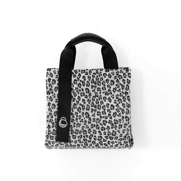 Square Leopard_ Gray
