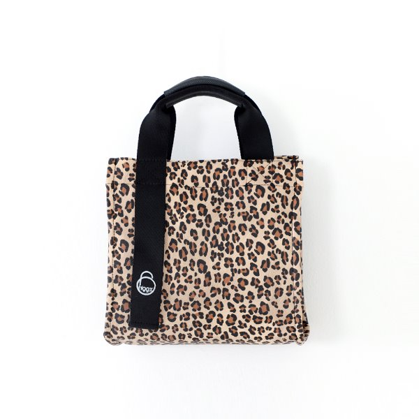 Square Leopard_ Brown