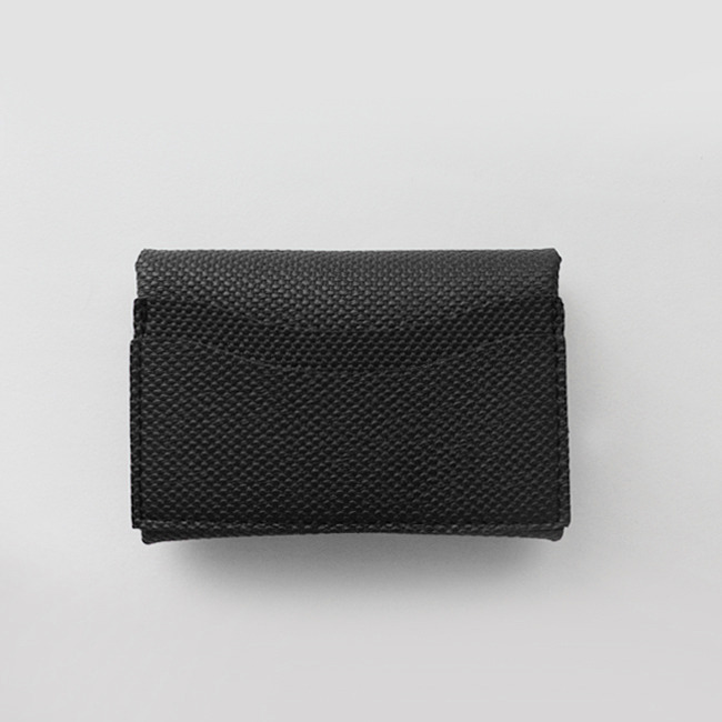 Mini Soft Multi Card Wallet_ Black