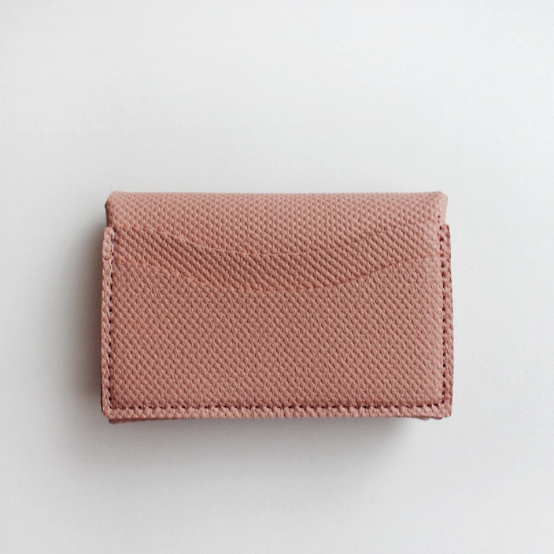Mini Soft Multi Card Wallet_ Pink