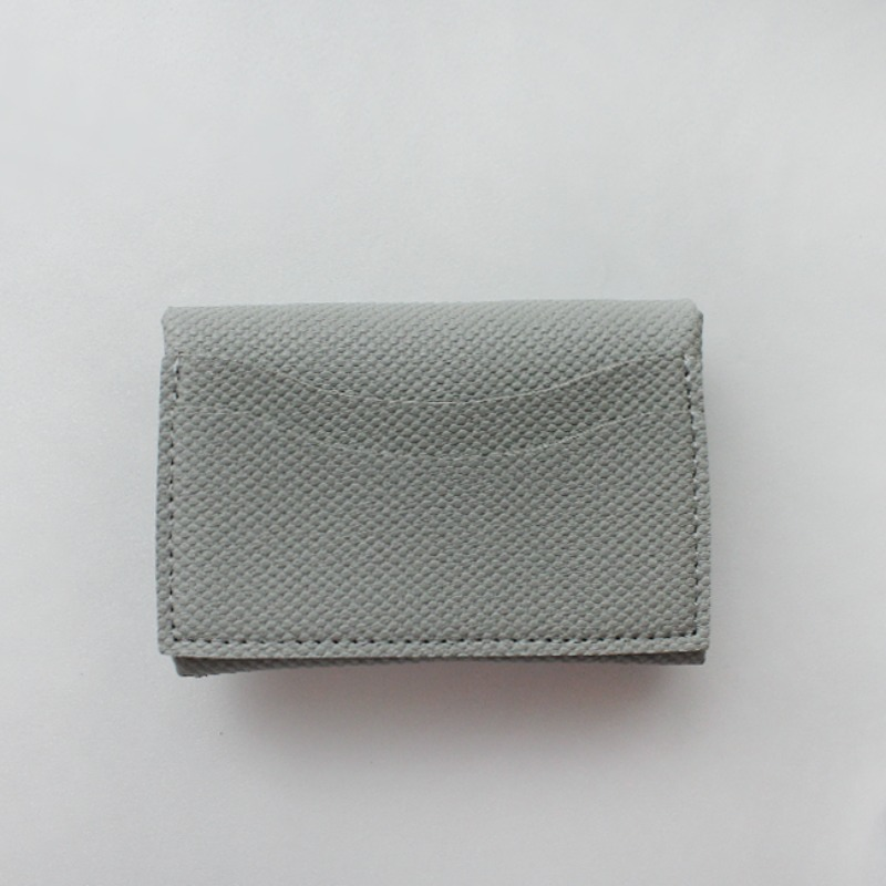 Mini Soft Multi Card Wallet_ Gray