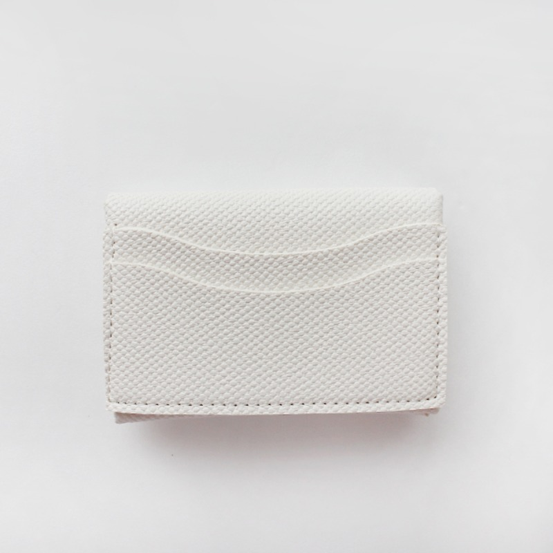 Mini Soft Multi Card Wallet_ Ivory