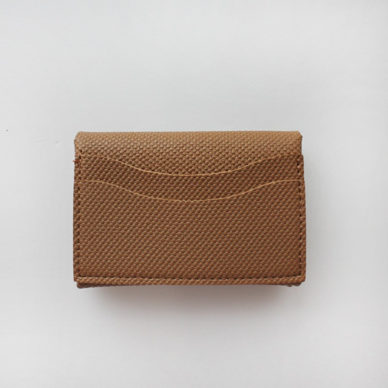 Mini Soft Multi Card Wallet_ Brown