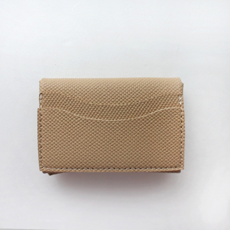 Mini Soft Multi Card Wallet_ Beige